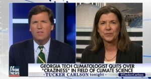 Climatologist Judith Curry on Tucker Carlson Tonight
