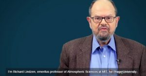Richard Lindzen, prefessor emeritus at MIT, what scientists say