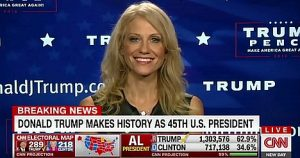 KellyAnn Conway on CNN 11-9-16