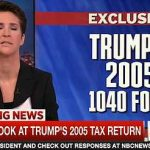 Rachel Maddow on Trump's 2005 taxes